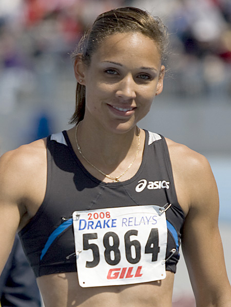 Lolo Jones LSU 2008 Drake Relays